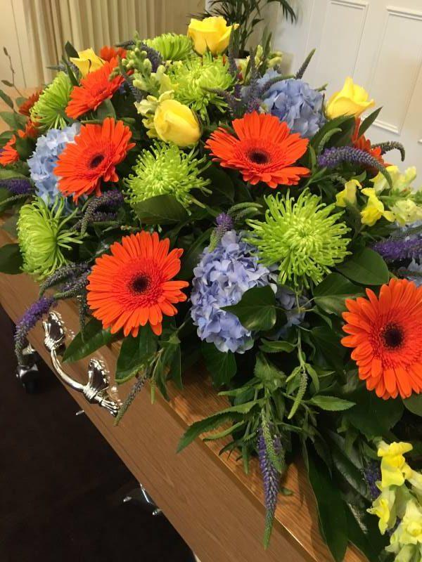 Boronia Funeral Directors Mixed floral arrangement