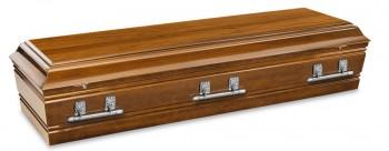 Devon Teak casket