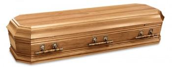 Grecian Urn Blackwood casket for Italian funerals