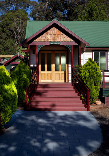 HEALESVILLE-GABLES Venue for Funeral services