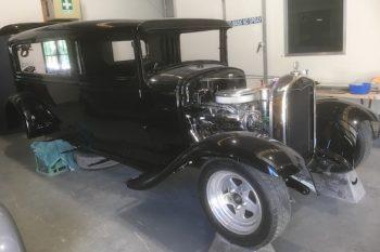 Hot Rod Hearse Oakdale Funerals