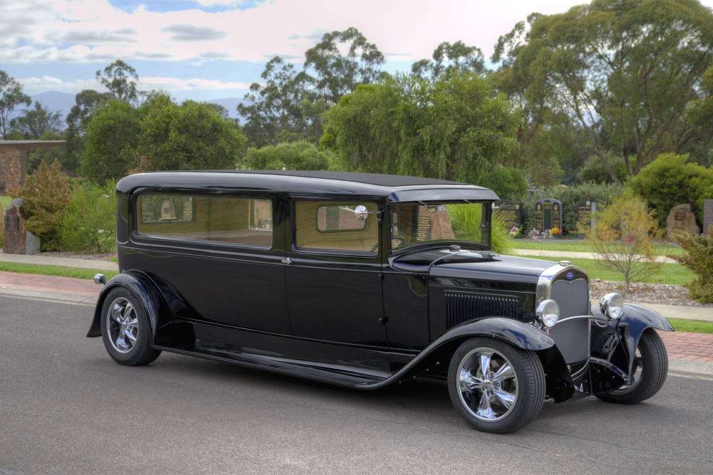 Hot Rod Hearse Hire Oakdale Funerals Melbourne