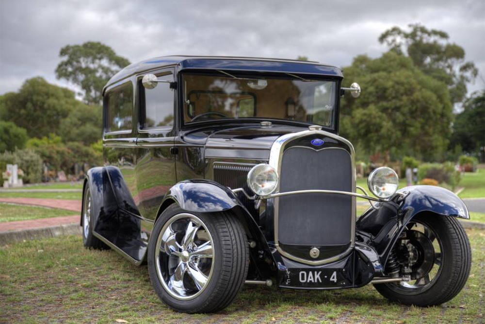 Hot Rod Hearse Hire Oakdale Funerals Melbourne