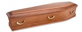 queen Sapelle solid timber coffins