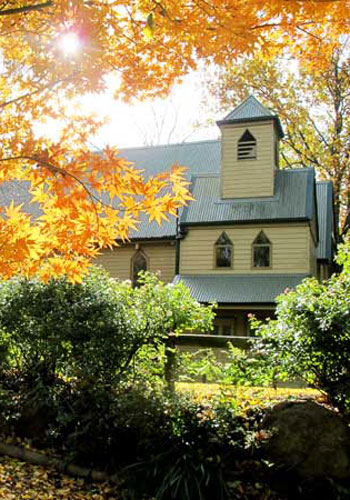 St-Cuthberts Chapel menzies creek perfect venue for funerals