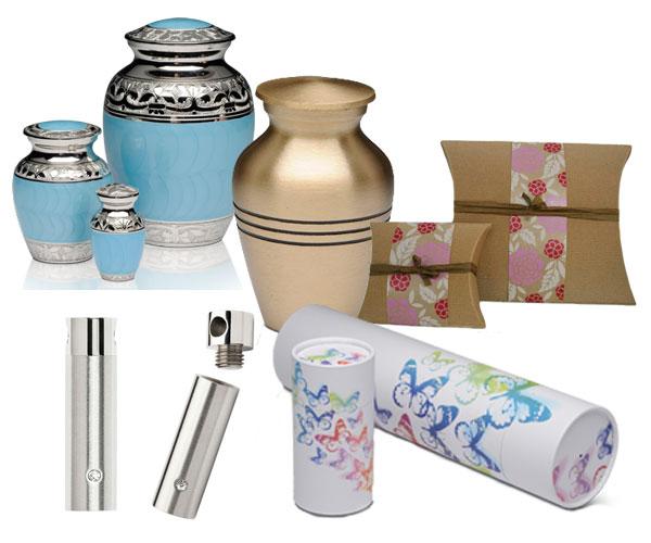 range of cremation urns